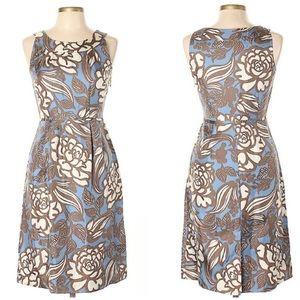 Boden Sz 6 Silk Floral Sheath Dress